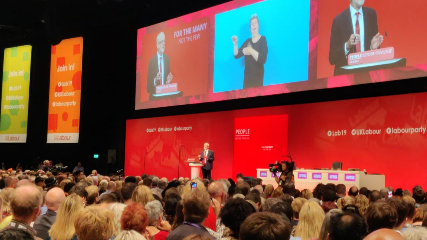 Jeremy Corbyn pledges support for female teachers during the menopause