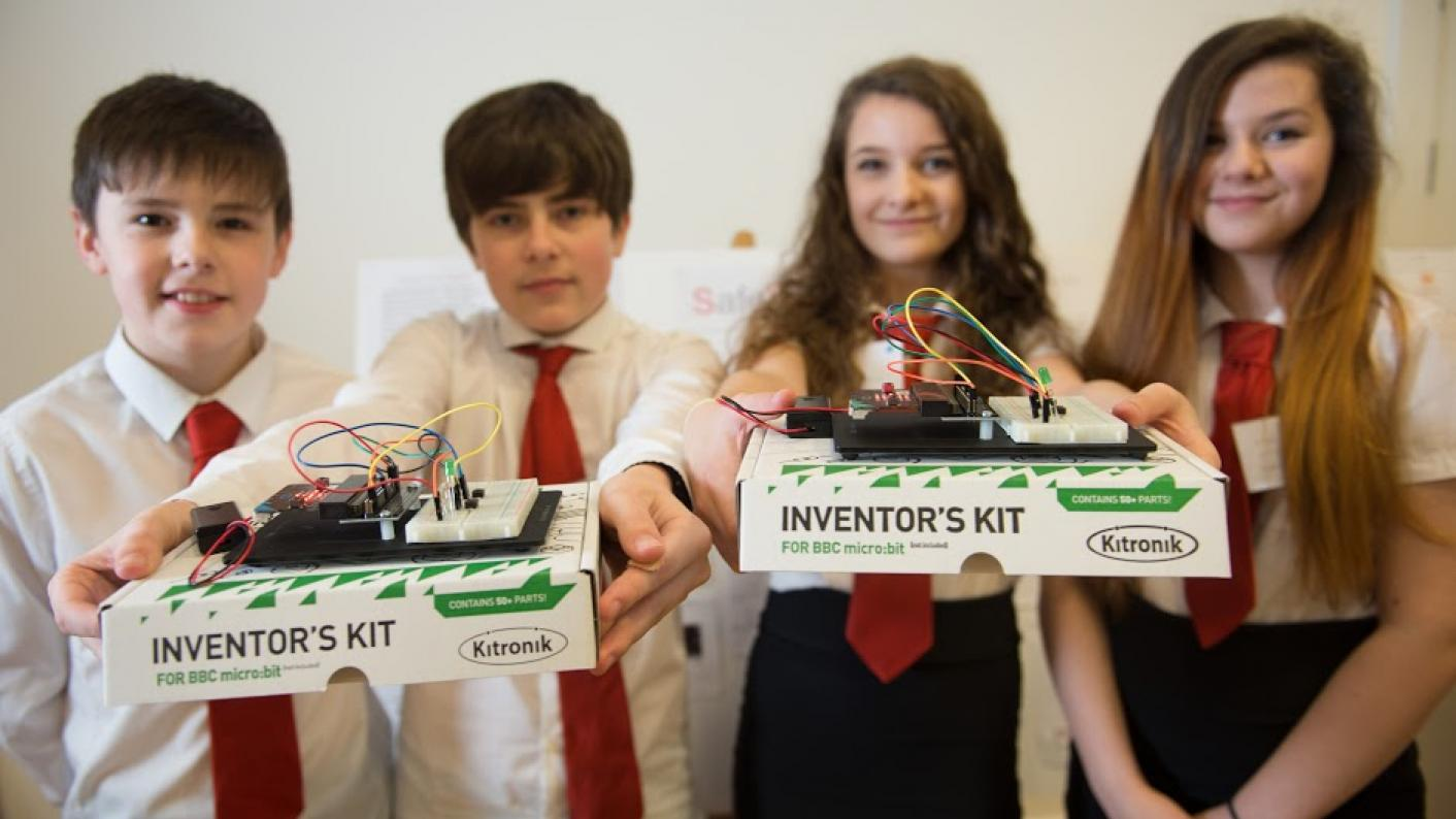 Scottish school lands European entrepreneurial award