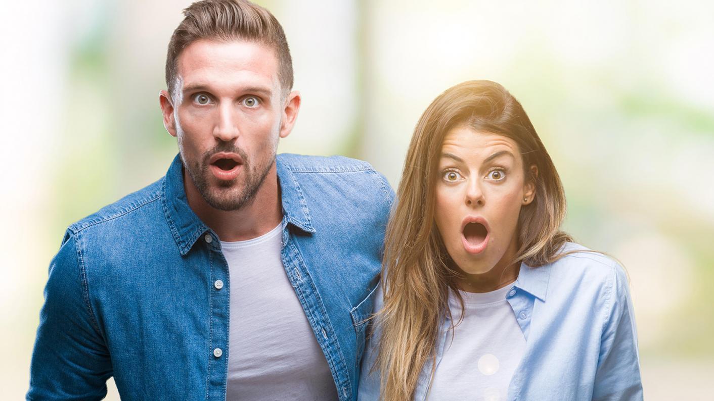parents looking surprised
