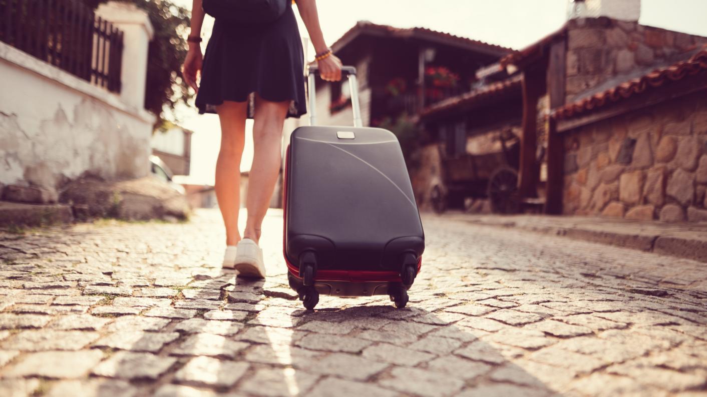 A teacher leaving home