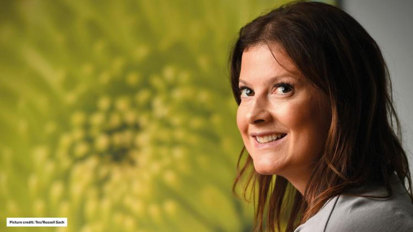 Stepping down: Libby Nicholas, of Astrea Academy Trust