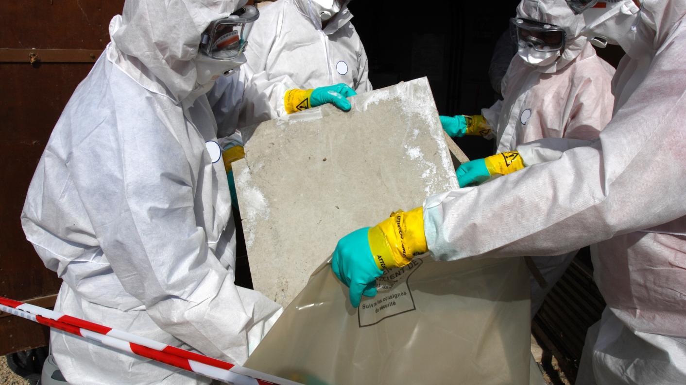 most schools have asbestos