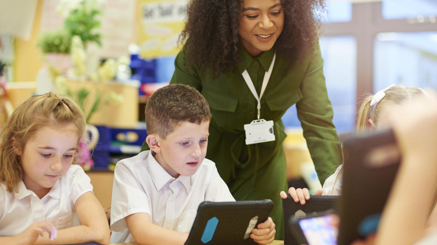 How touchscreen devices, such as tablets, can enhance early years education