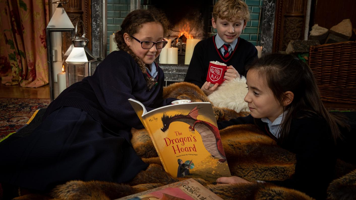 Cosy: Scandinavian-inspired 'Hygge' lessons have been introduced by one private school