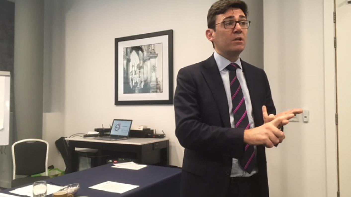 Coronavirus: Now is the time for skills devolution, says Manchester mayor Andy Burnham