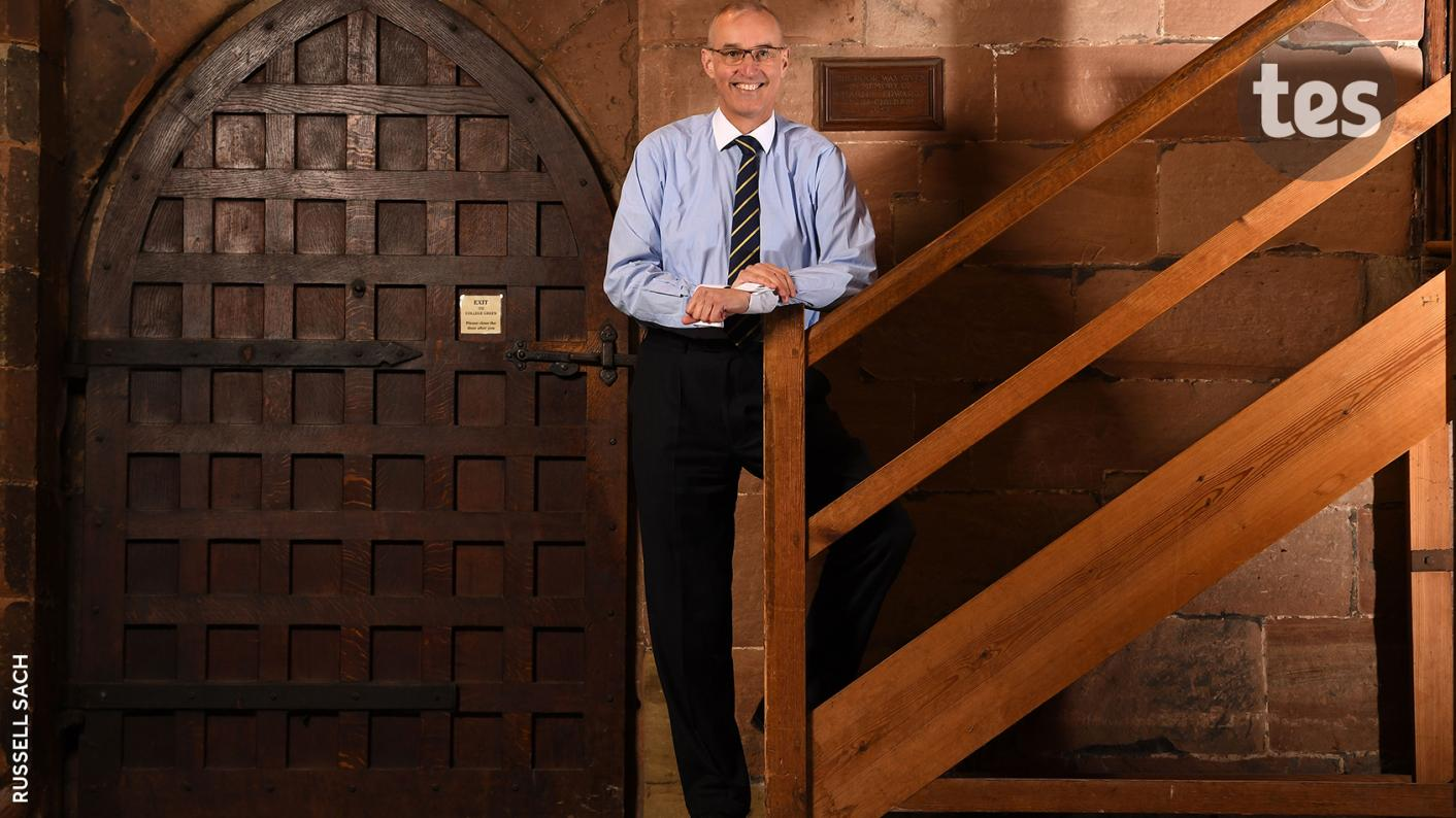 Mark Fenton, chief executive of the Grammar School Heads Association