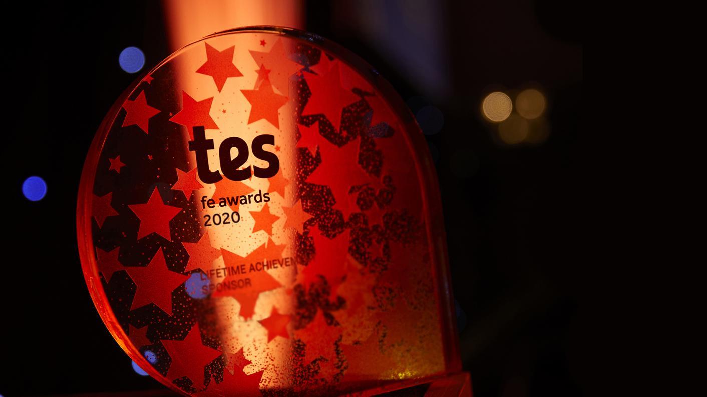 Tes FE Awards 2020 shortlist announced