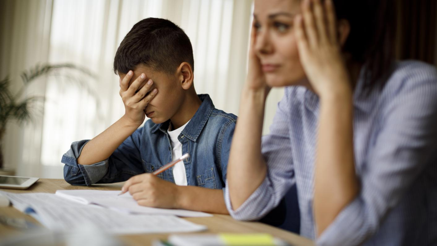Coronavirus: How parents are struggling with home-schooling