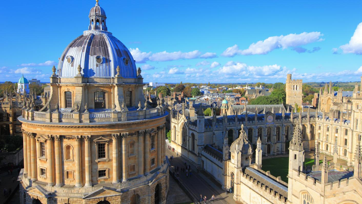 Oxbridge access: The University of Oxford says it has issued a 'record' number of offers to state school pupils