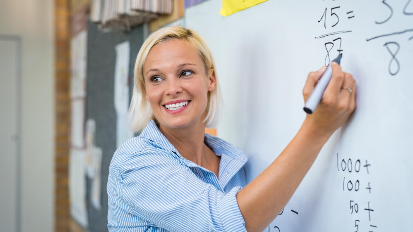 Teacher wellbeing: Teachers are happy compared with other professionals - and it's wrong to say that they have worse mental health, according to new research
