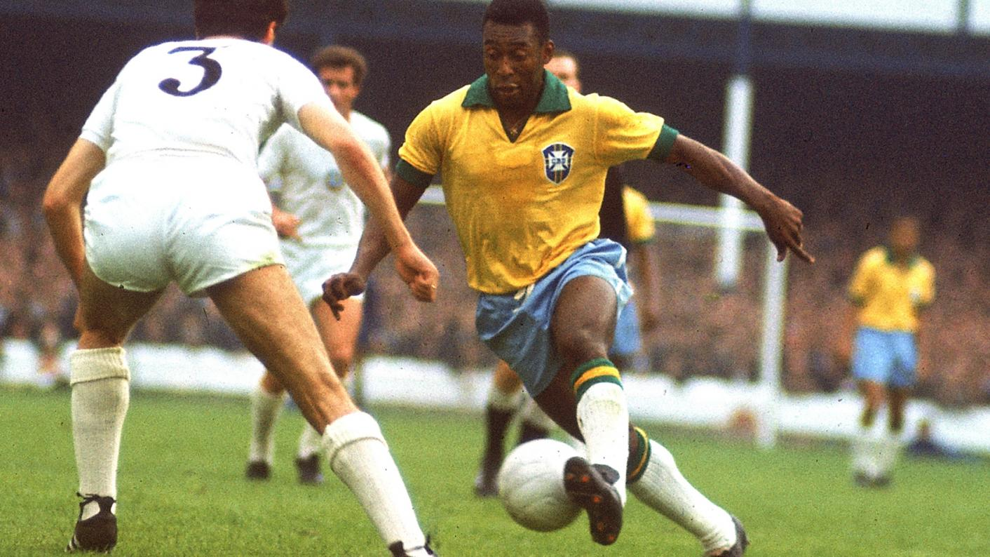 Public speaking: Teacher Alan Gillespie recalls confidently giving a presentation about Pelé when he was at primary school, but says that, as he got a bit older, he developed an anxiety about public speaking