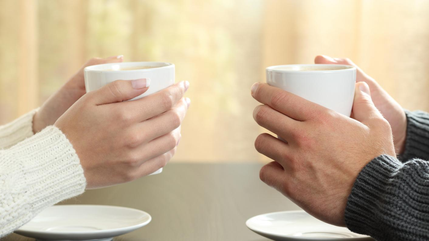 Tea and chat: talking with colleagues boosts wellbeing
