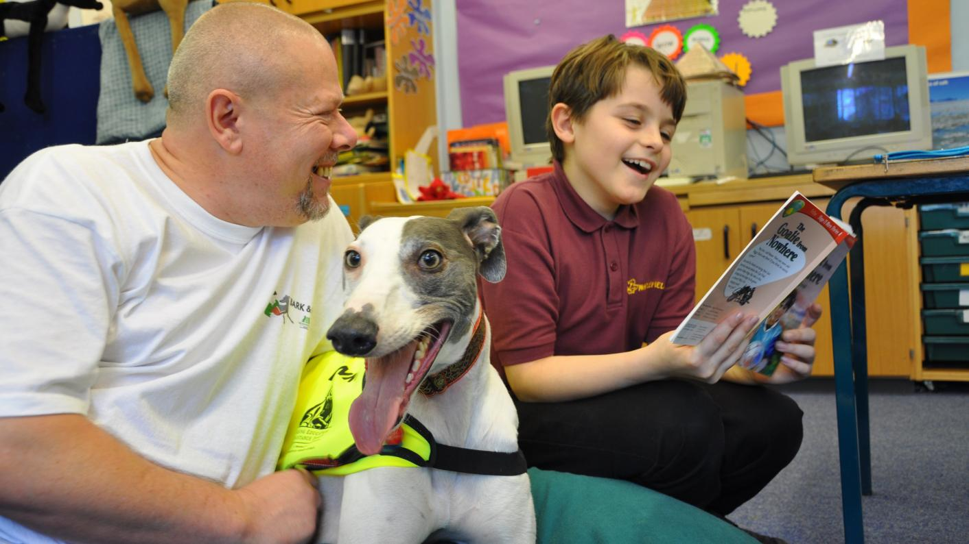 School dogs can bring huge benefits - if done properly. Pic credit: Heidi Hudson and the Kennel Club