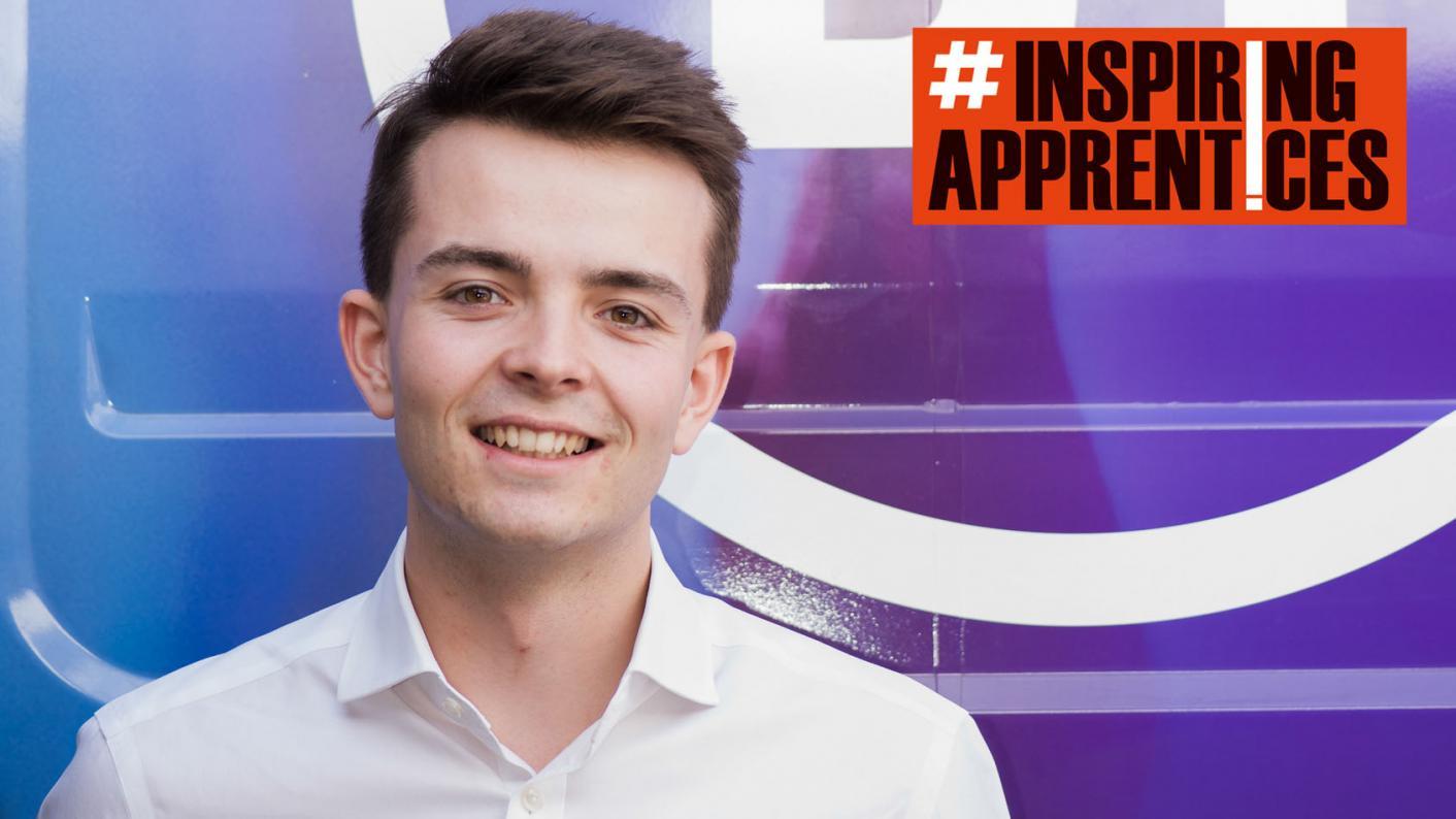 Callum Elsdon tells his story as today's inspiring apprentice