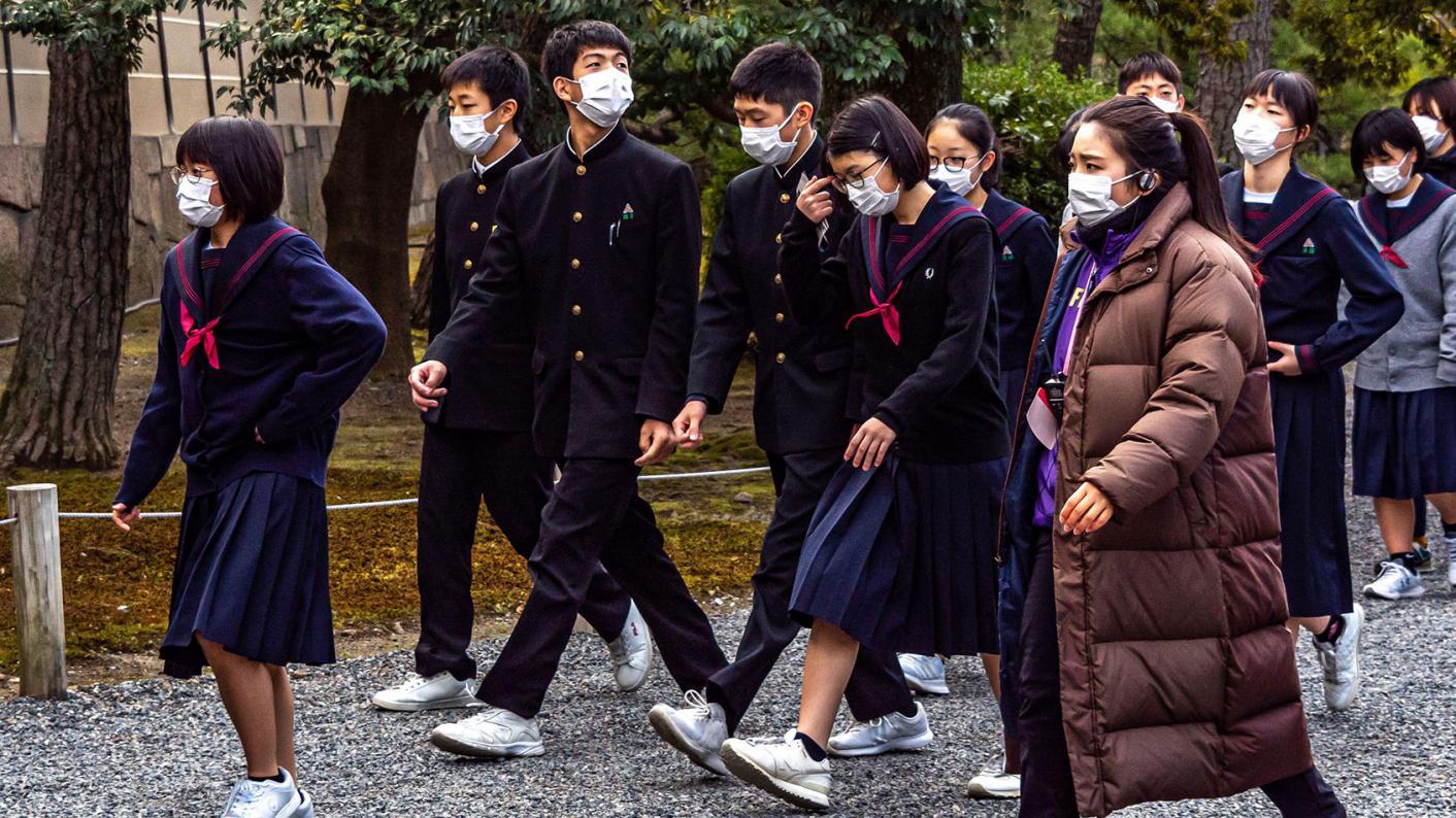 Japan is closing all its schools over Coronavirus fears.