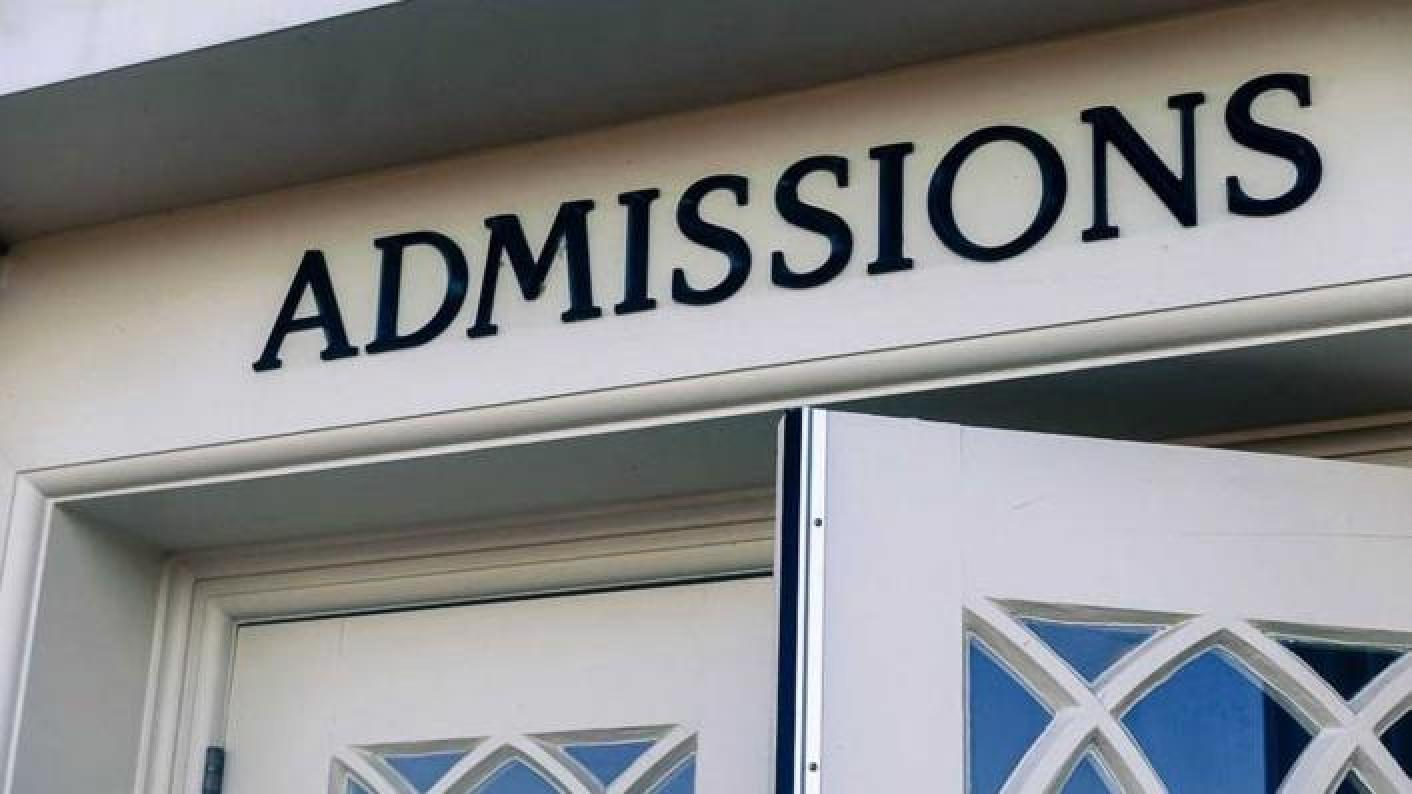 admissions review