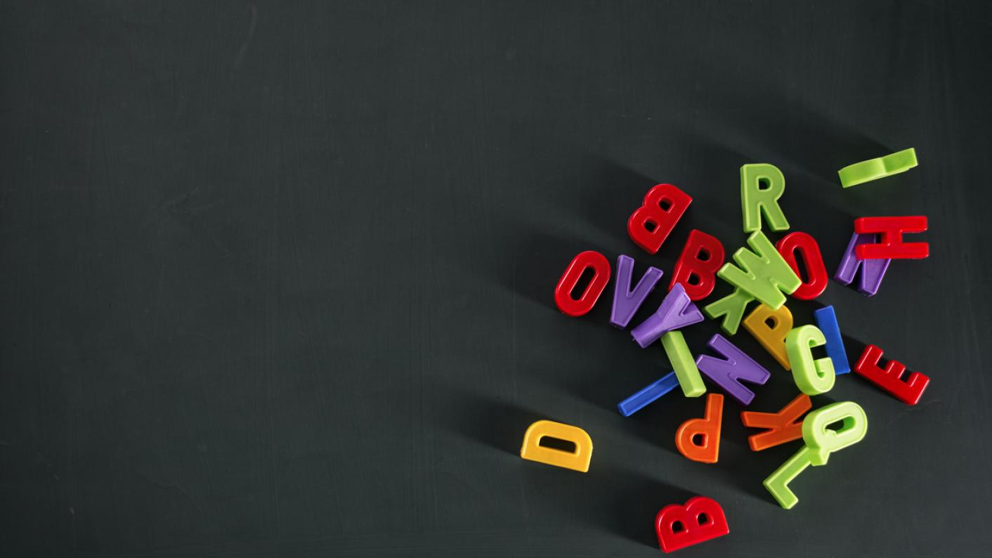 Jumble of letters: pupils who can't read well can't access education
