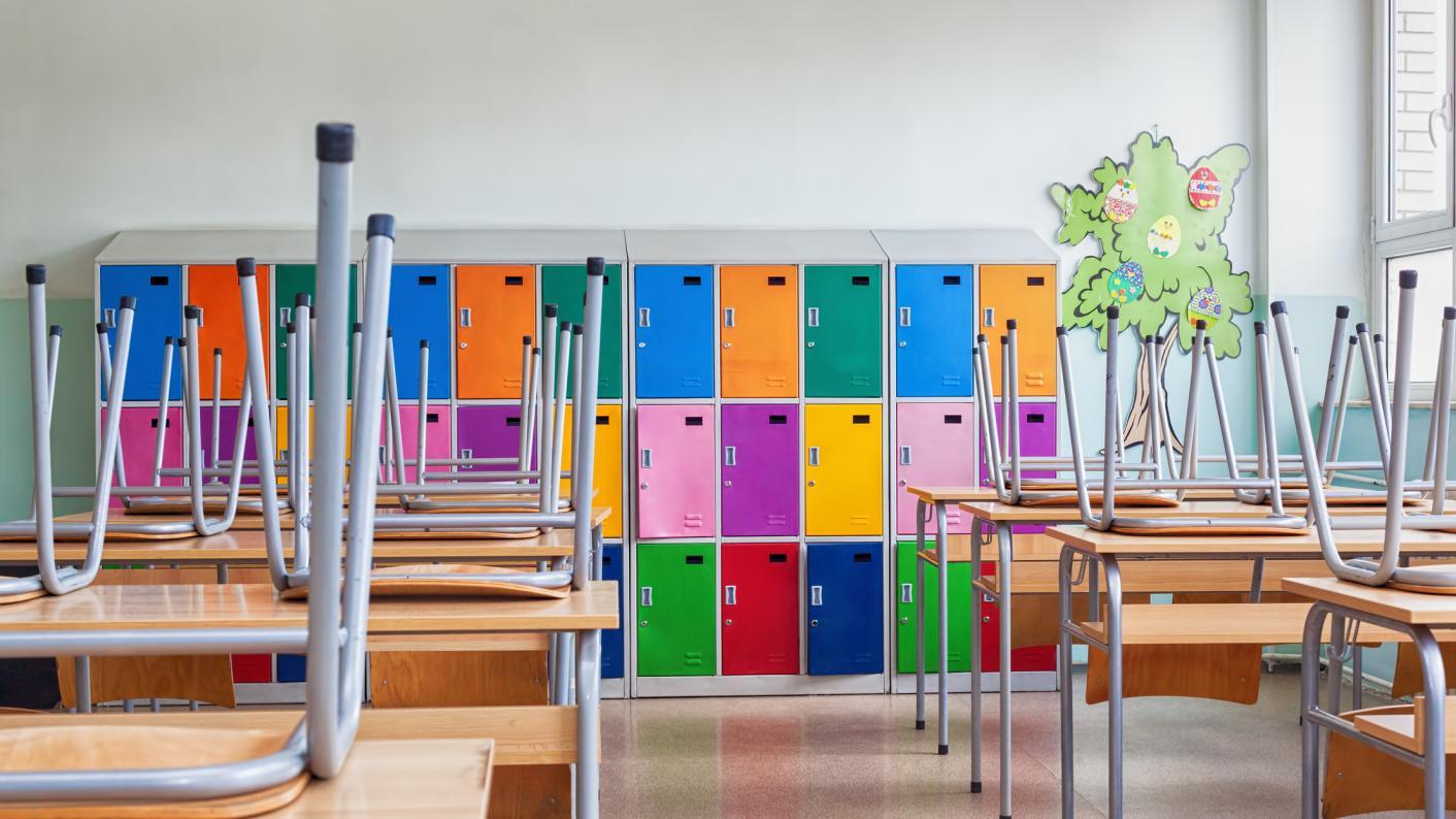 A school closed during to Coronavirus