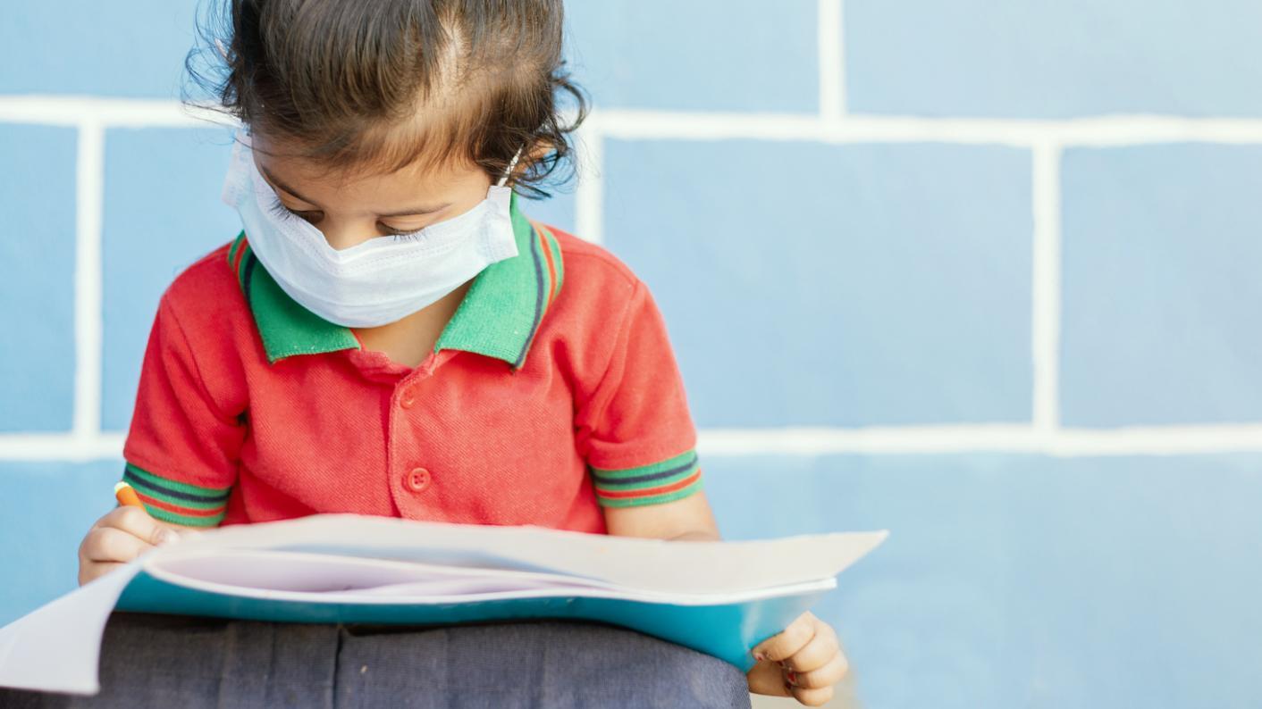 Coronavirus: Child studying