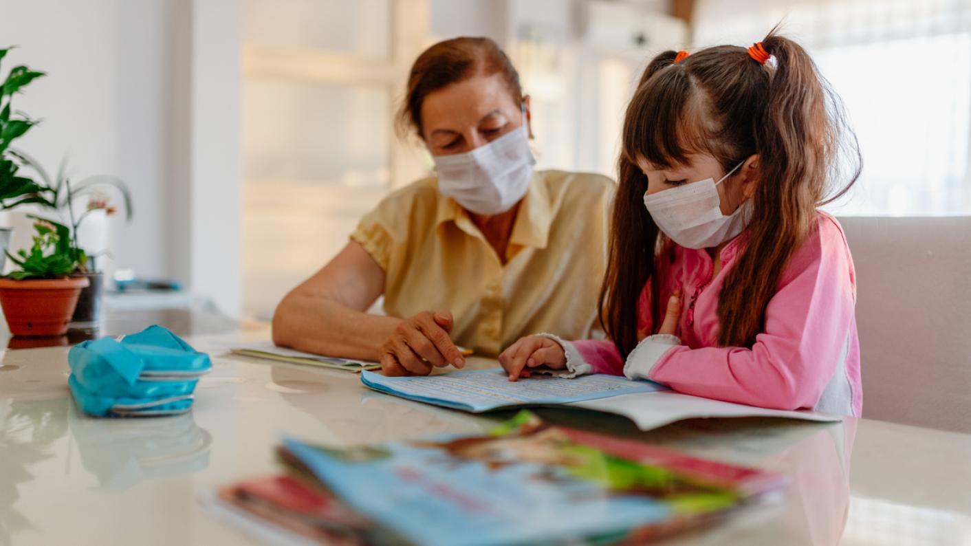 Coronavirus: Pupil learning at home