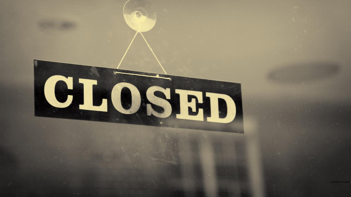Closure sign