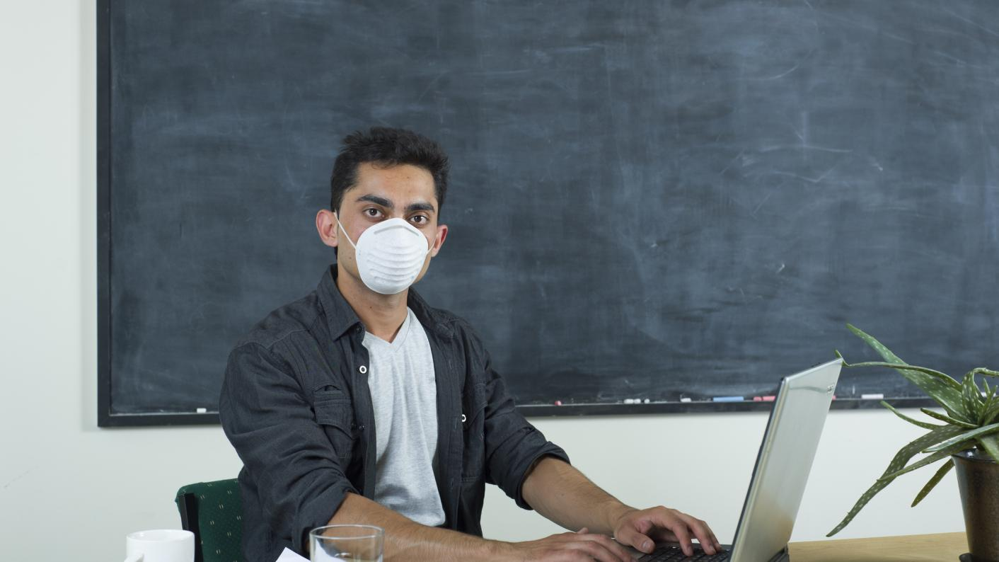 Teacher face mask