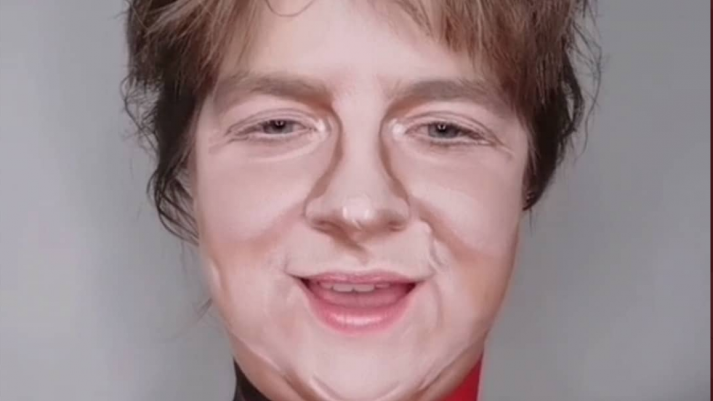 Coronavirus lockdown: Singer Lewis Capaldi has praised this make-up lecturer for transforming herself into him and other famous faces