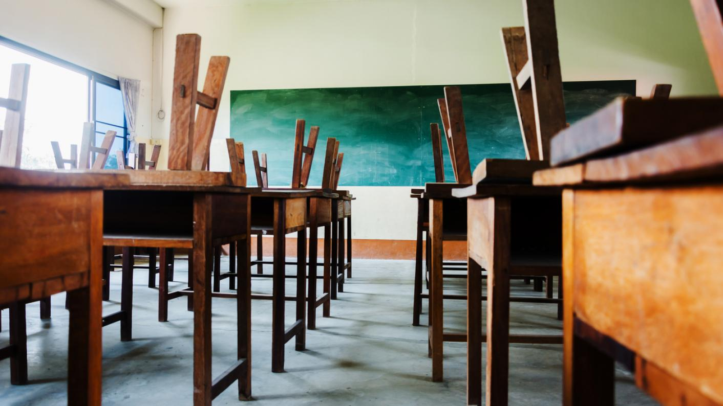 Blended learning: Teaching live online lessons from an empty classroom