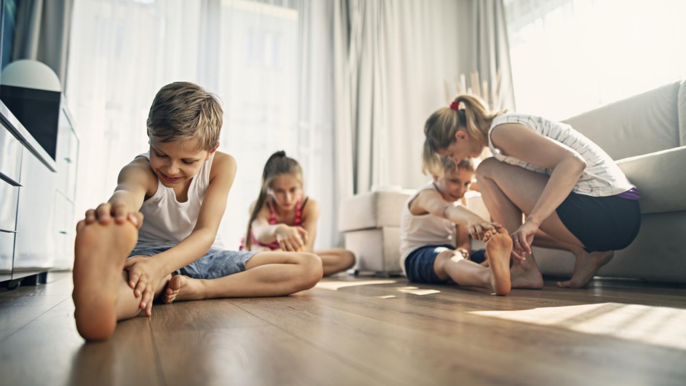 Coronavirus school closures: How to use virtual PE lessons to improve family health