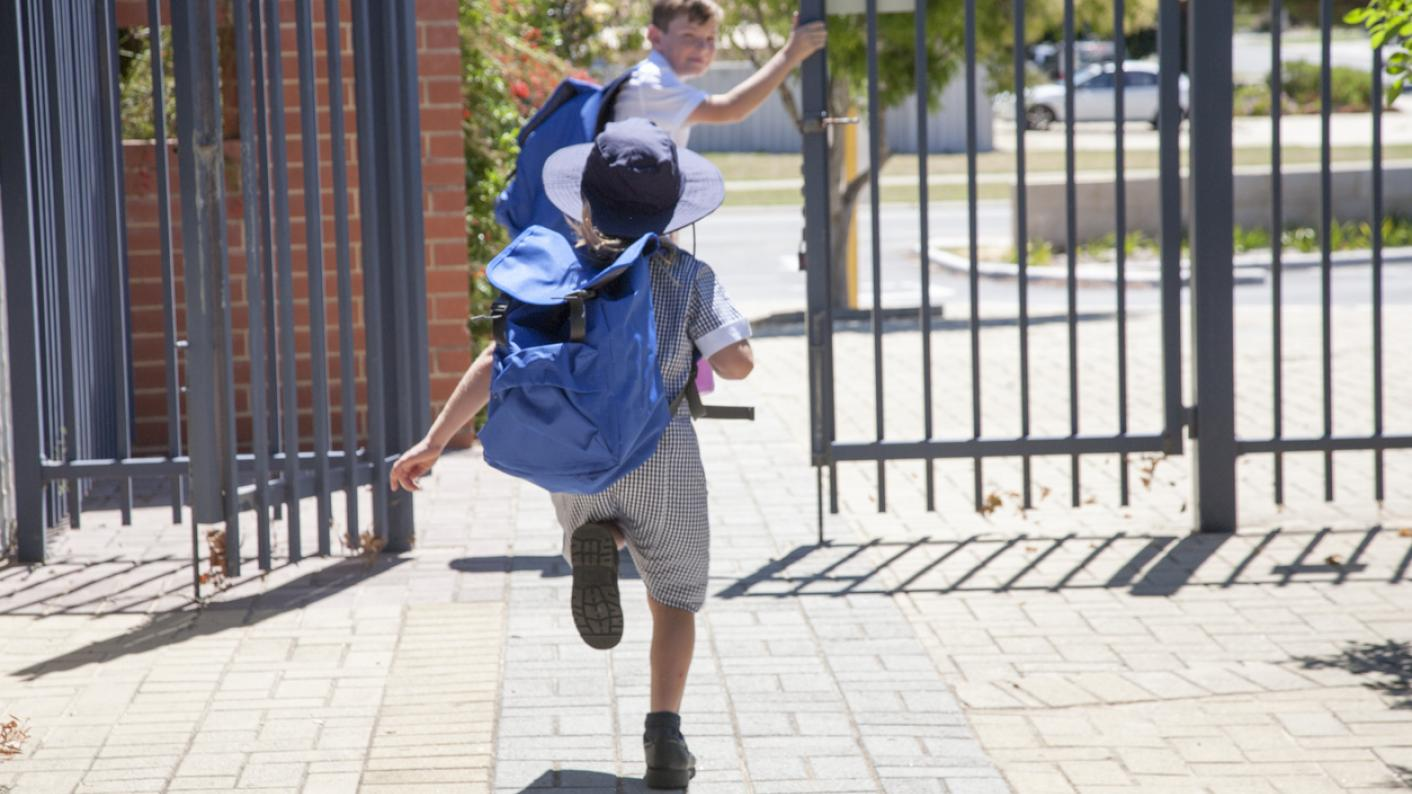 Why don't schools make better use of pick-up time?