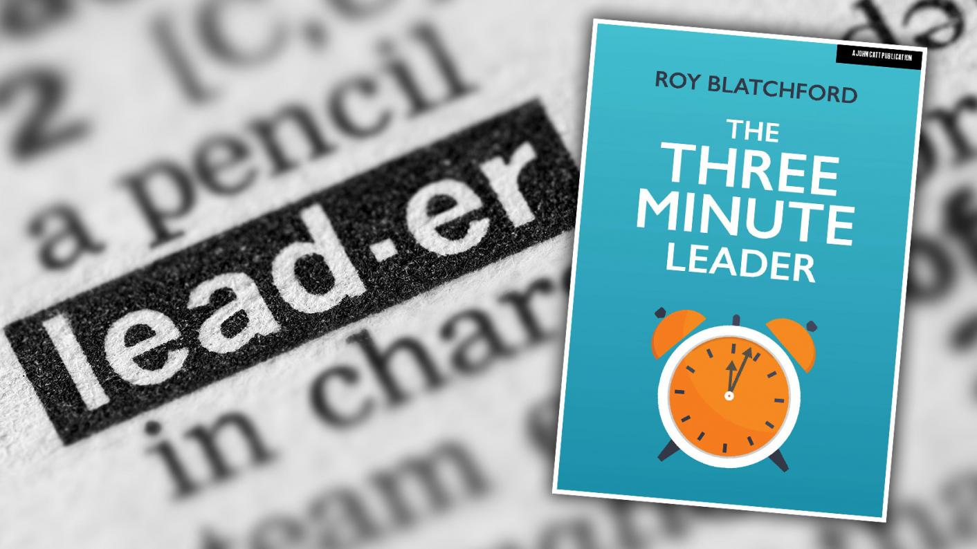 Book review: The Three Minute Leader