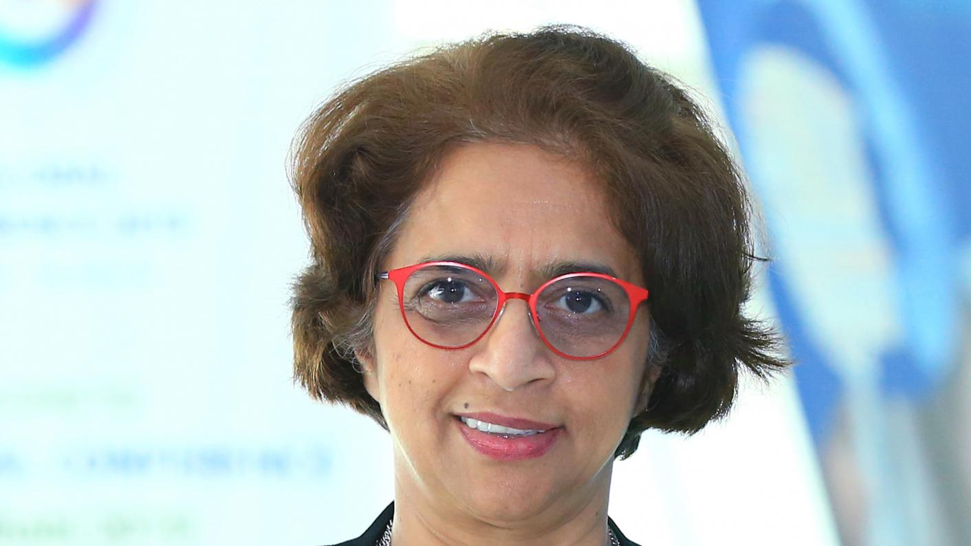 Dr Siva Kumari the diector general of the International Baccalaureate