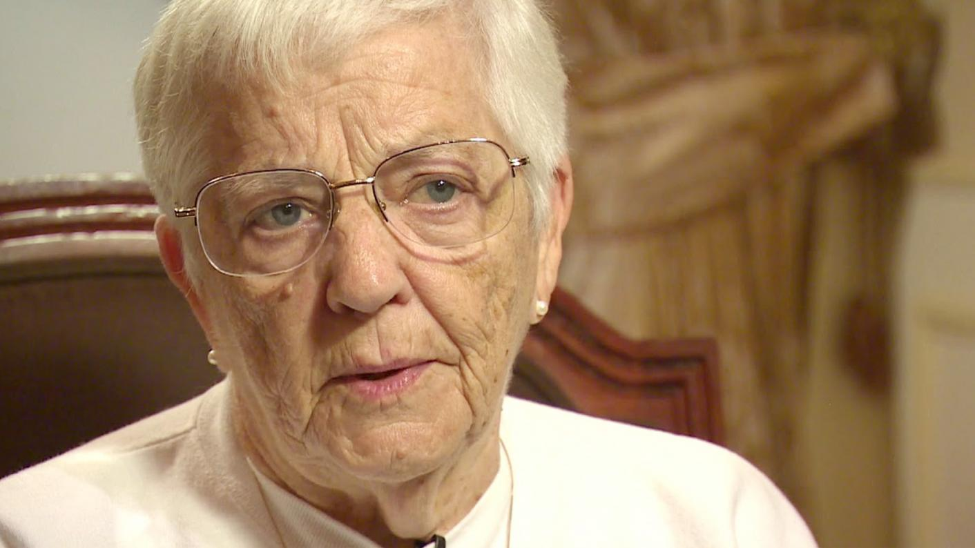 The fight against racism: Anti-racism educator Jane Elliott devised the famous 'Blue eyes-brown eyes' exercise