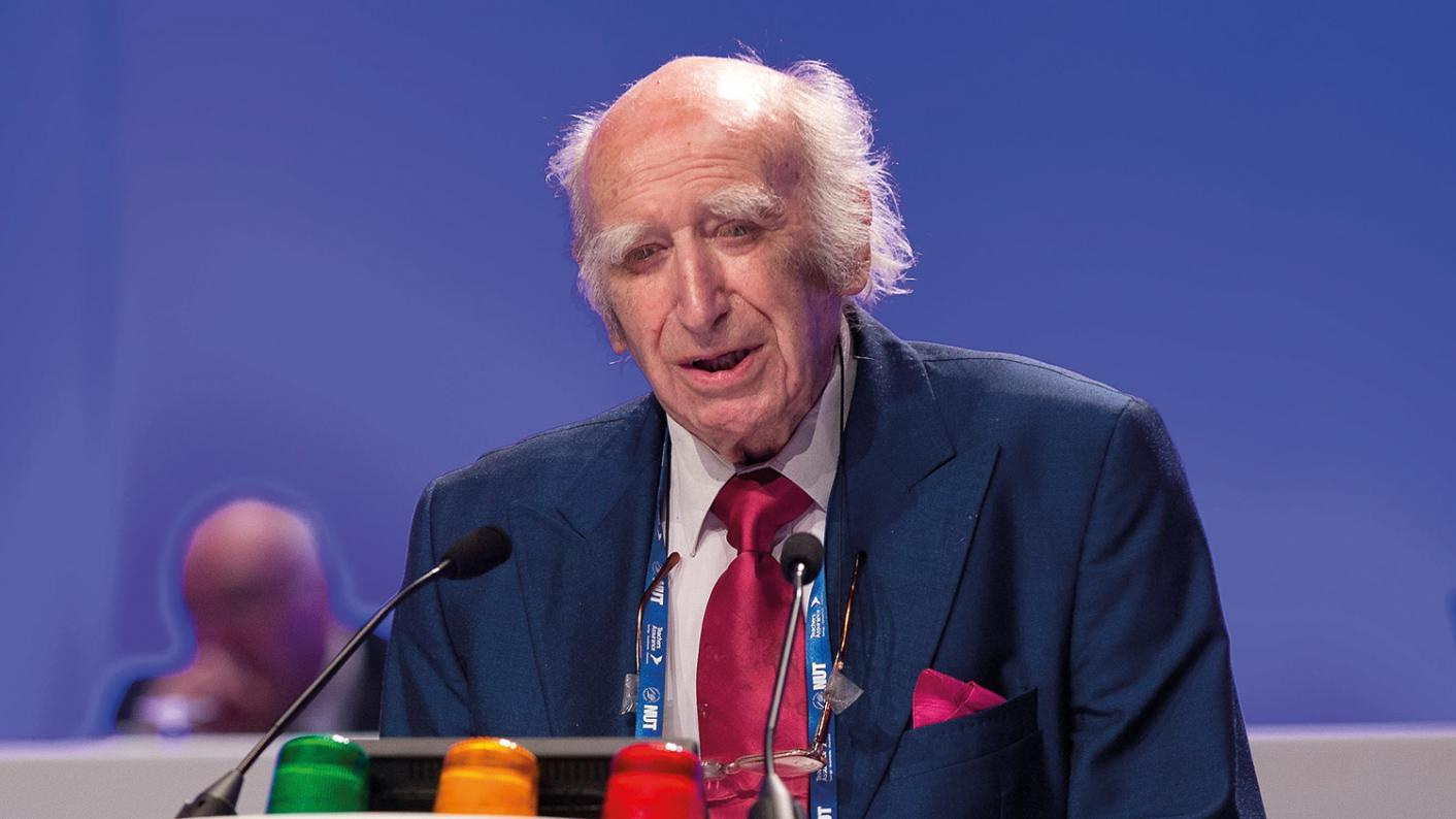 Tributes: Fred Jarvis was general secretary of the NUT teaching union from 1975 to 1989