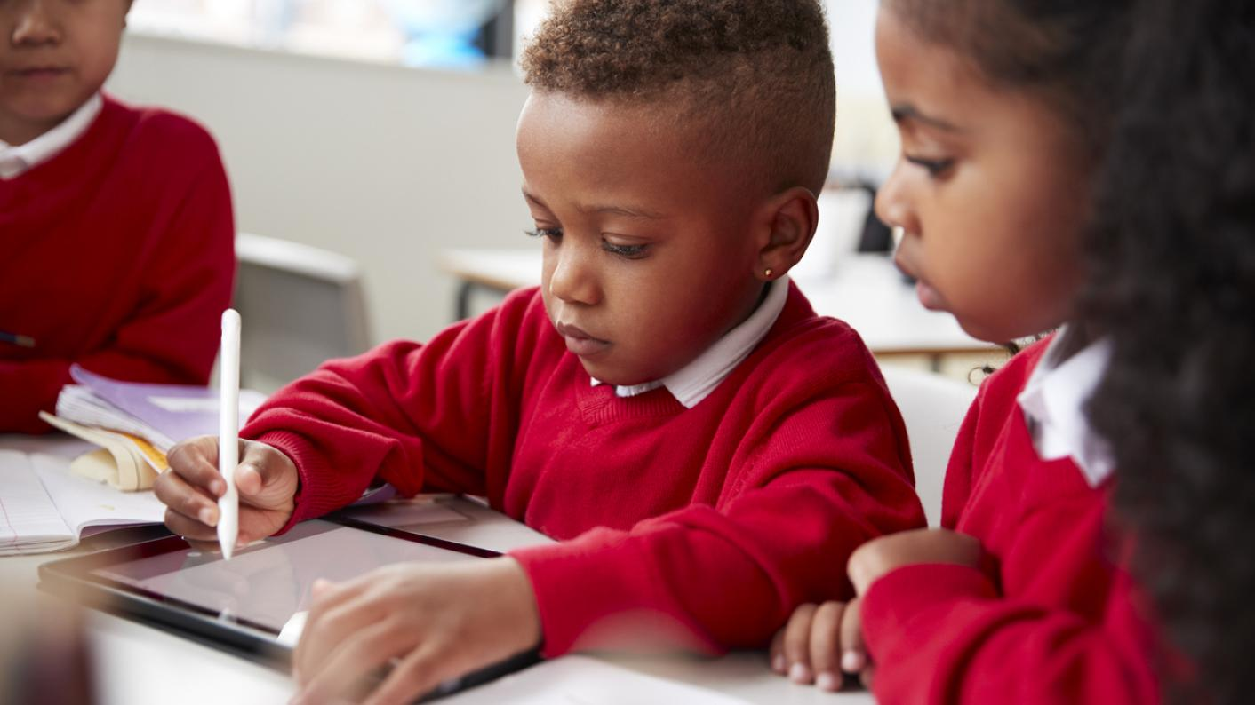 Children in primary school