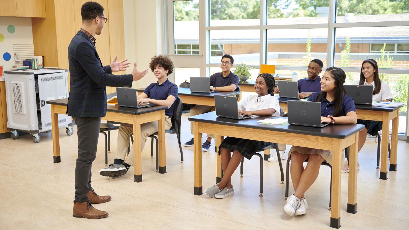 Teacher classroom computers