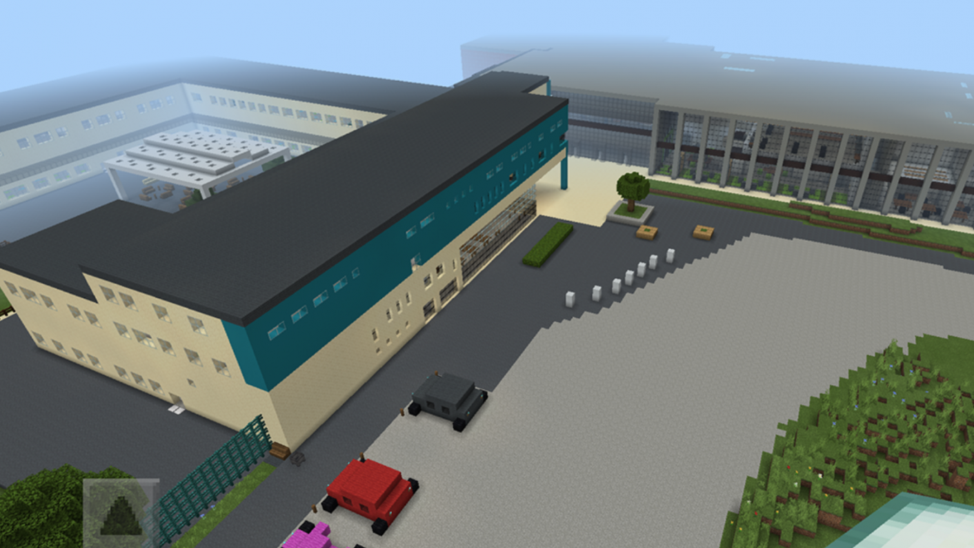 Coronavirus: A headteacher has recreated his school in the computer game Minecraft so that new students can have a look around