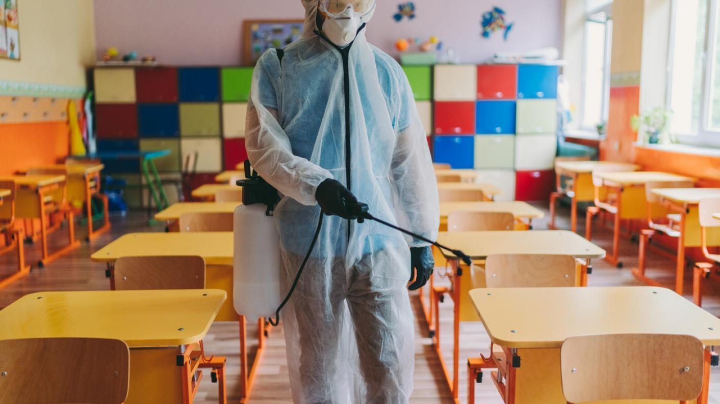 Teachers have been told to be vigilant as figures show 30 Covid-19 outbreaks were linked to the wider opening of schools in June.