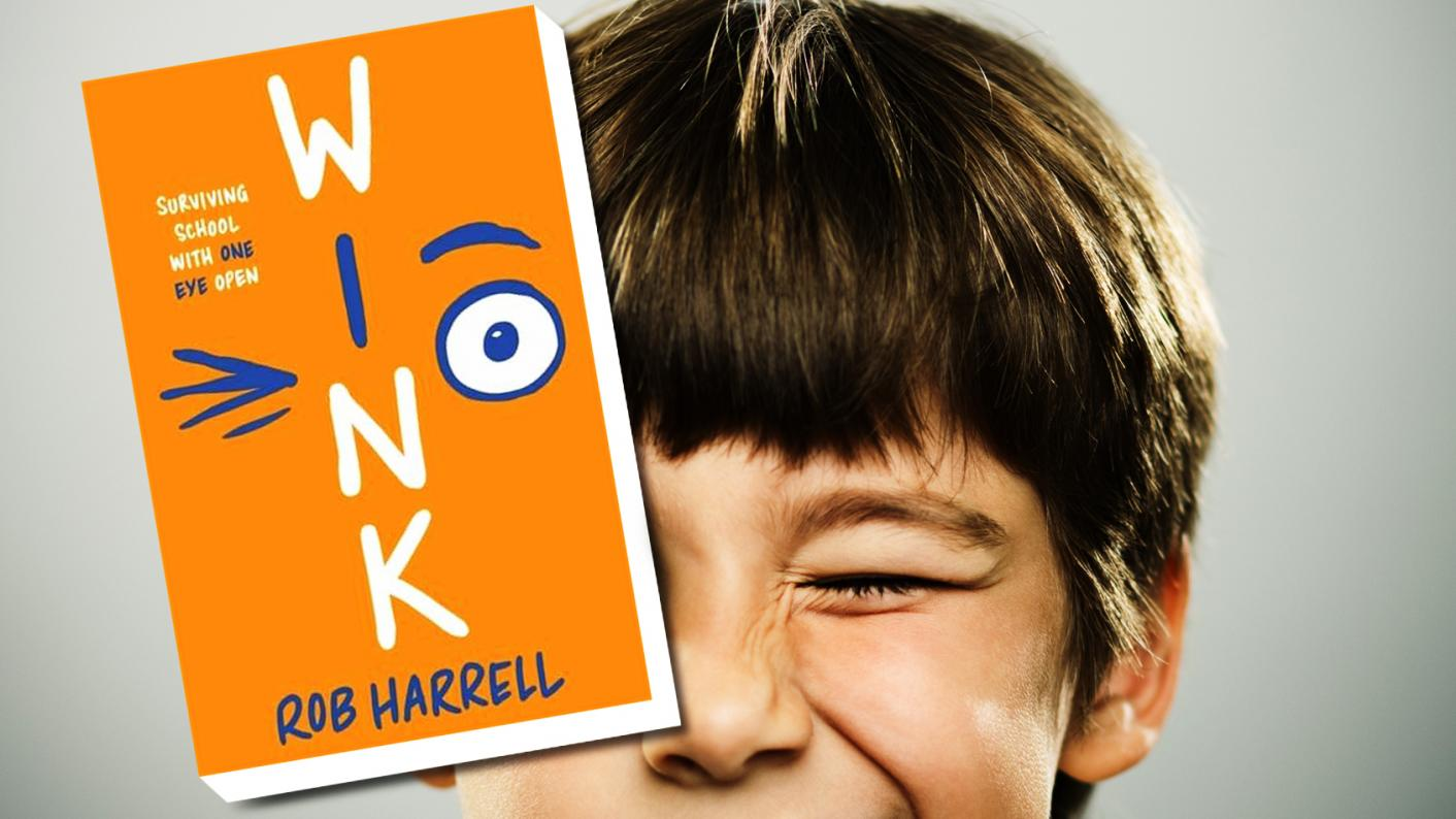 Class book review: Wink by Rob Harrell