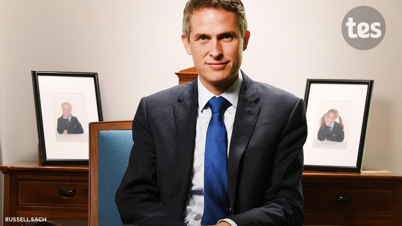 Colleges: The government's upcoming FE White Paper will be exciting and bold, Gavin Williamson has said