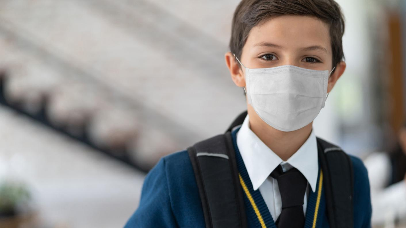 Mask wearing will no longer be mandatory for secondary schools if they are in a middle risk tier area.