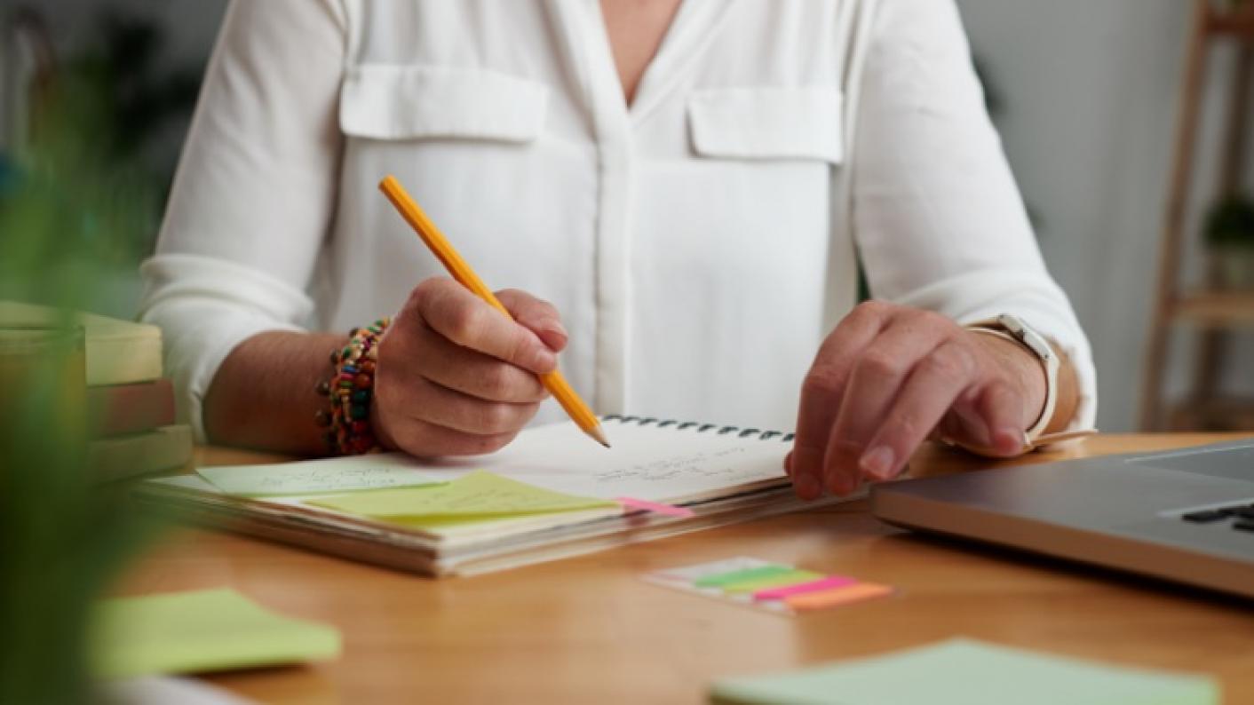 Primary School Teacher Planning Back-to-school Activities For Her KS1 & KS2 Classes
