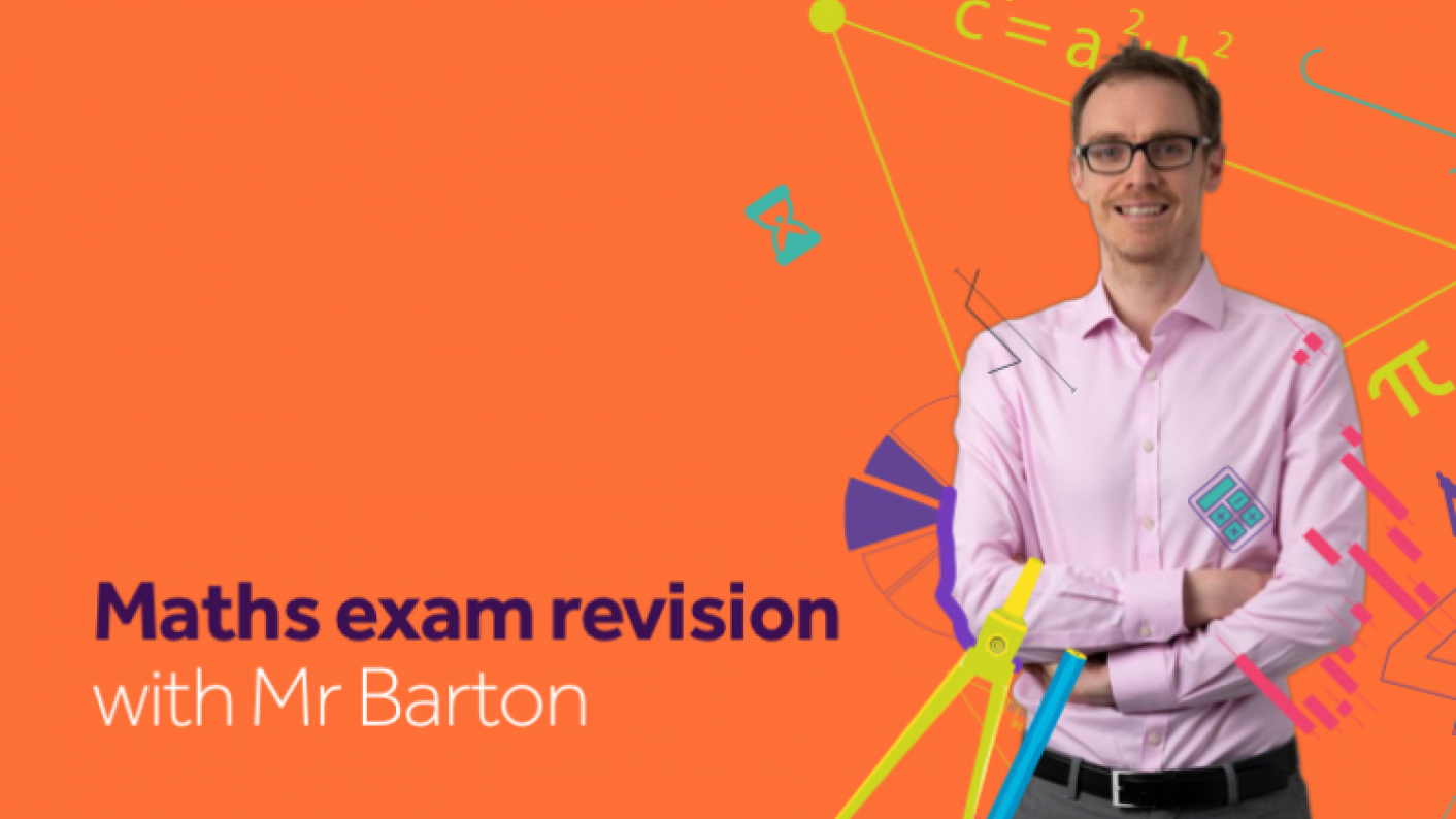 maths exam revision with mr barton