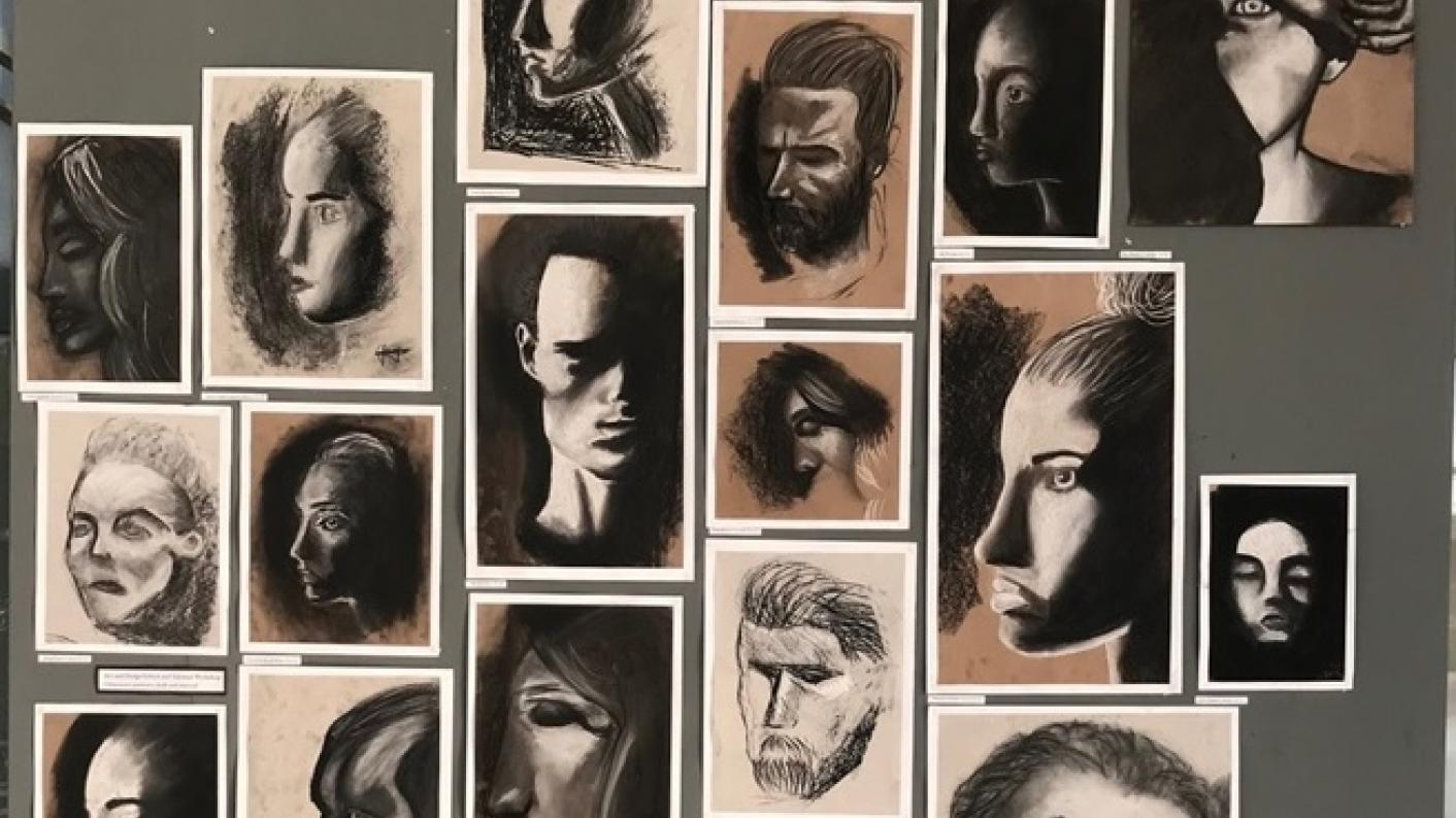 How putting school art work online can boost the profile of creative subjects