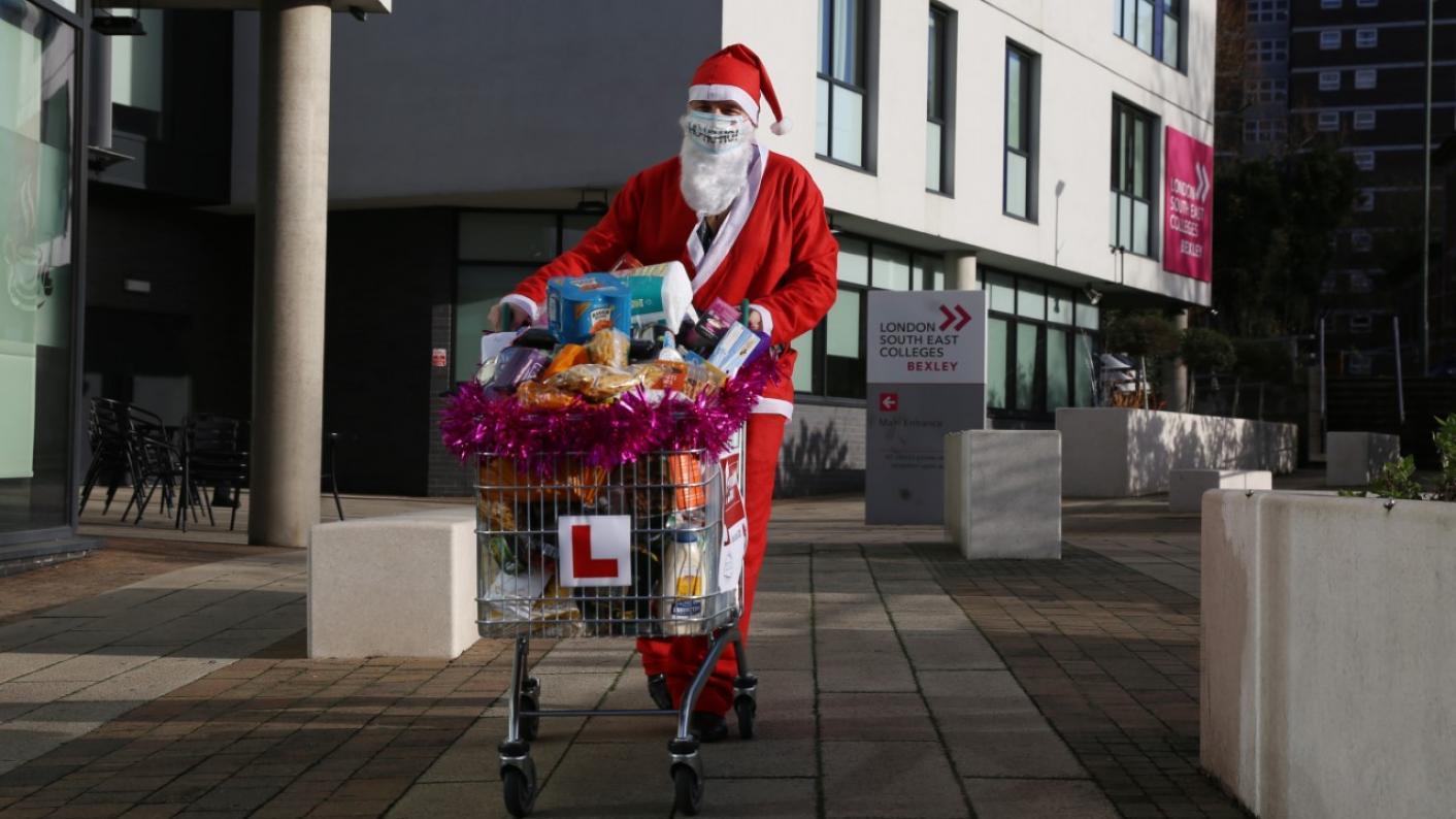 FE festive food bank: Thousands raised for food parcels