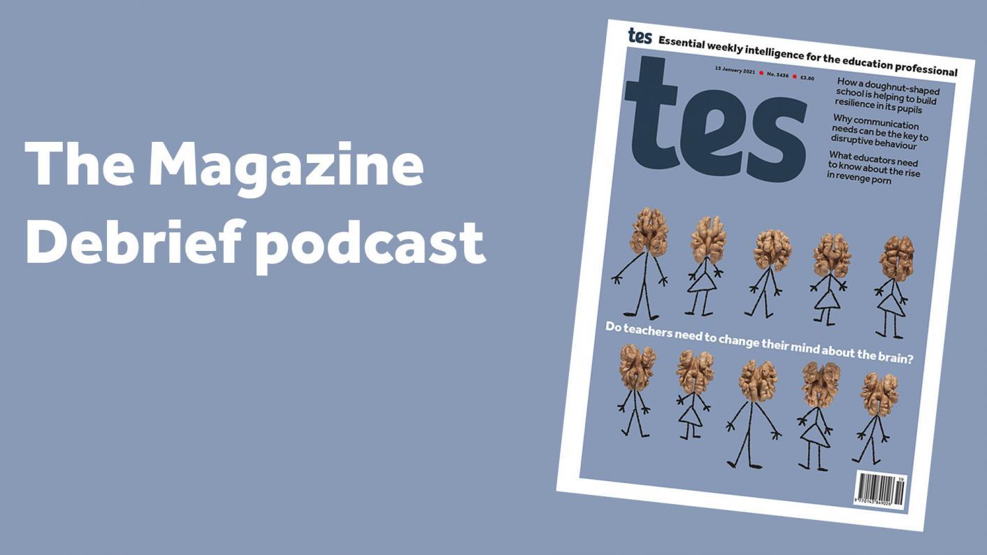 Magazine pdocast cover 15 January