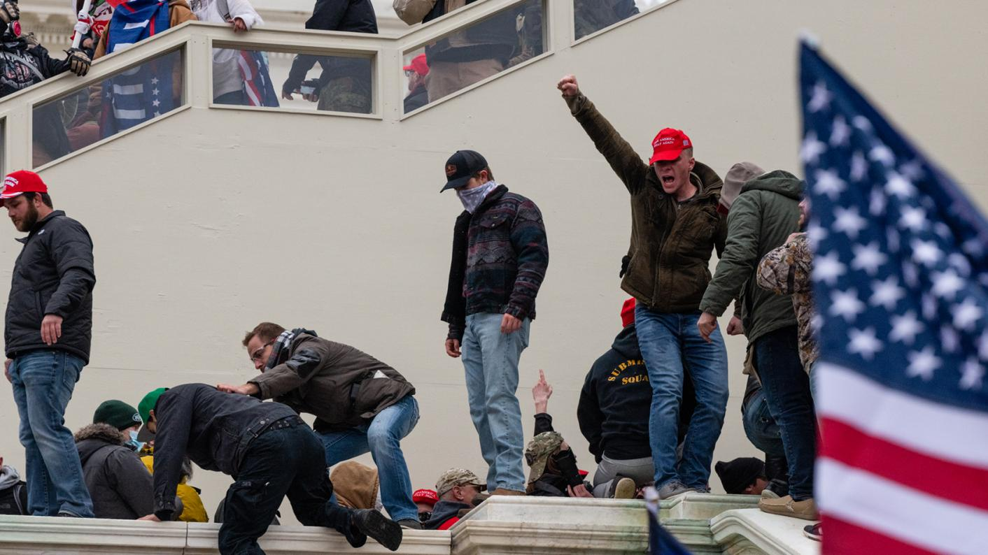 The attack on the US Capitol Building shows the need for moral education, says Chris Lindop