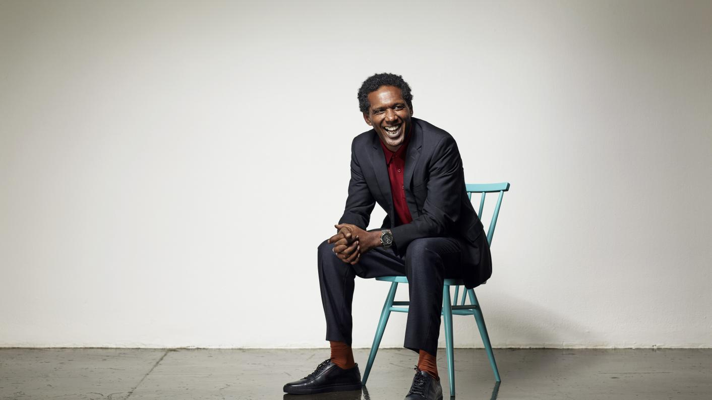 Lemn Sissay on the Tes My Best Teacher podcast - credit Hamish Brown