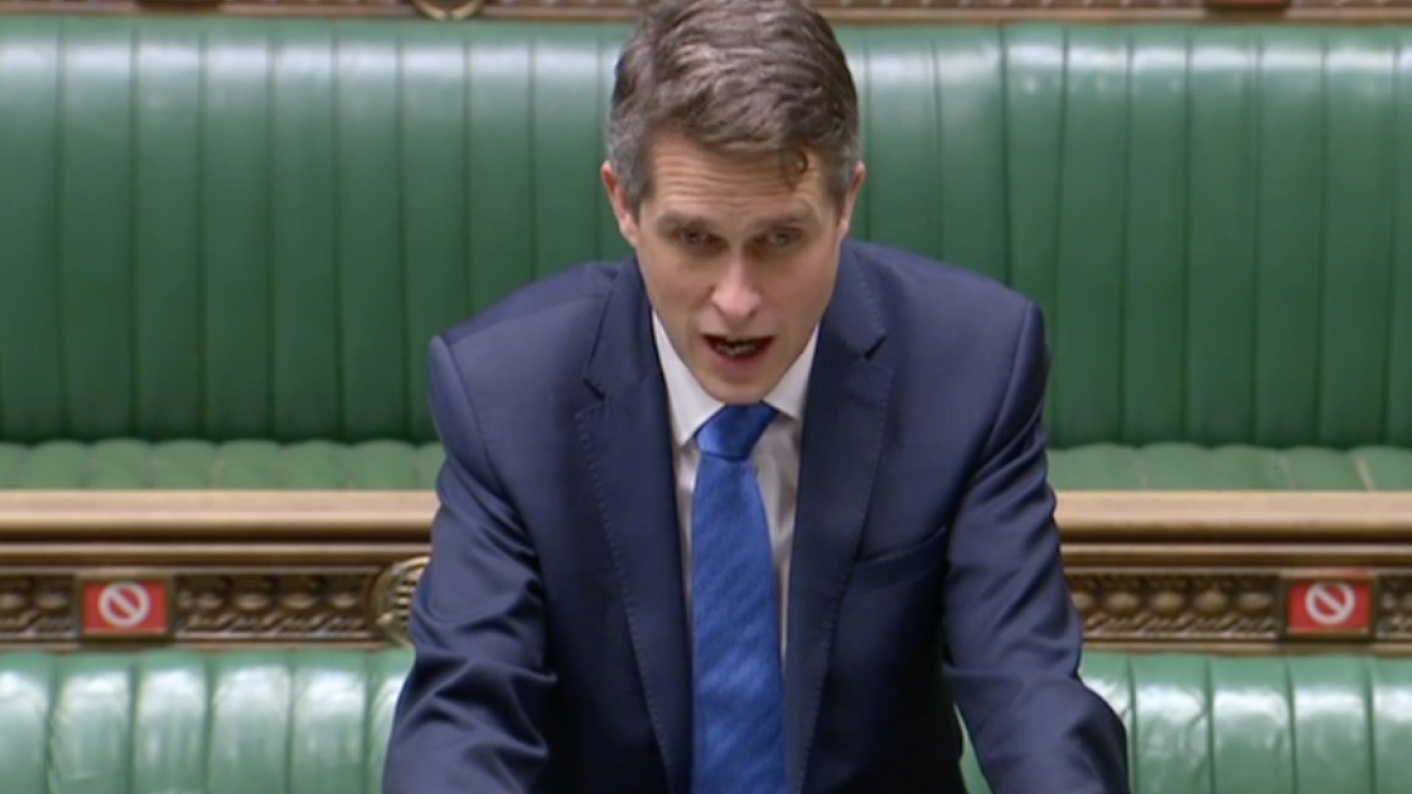 Coronavirus: Gavin Williamson has called on schools to increase testing of staff to twice a week