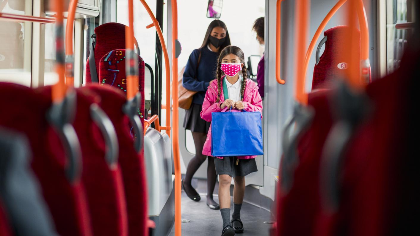 Digital divide: Pupils without internet access have been forced to go on buses to get wi-fi to carry out online learning, a parliamentary committee has been told